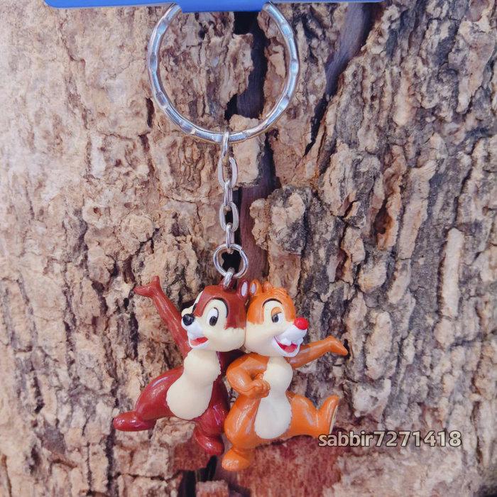 JP購✿樂園限定經典鎖圈 奇奇蒂蒂 花栗鼠 松鼠 日本東京迪士尼樂園 吊飾 掛飾 鑰匙圈 401470005029