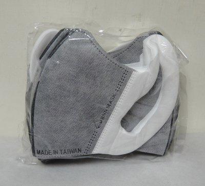 #台灣製造# BNN 成人四層立體活性碳口罩. 一盒50入. 非醫療用口罩