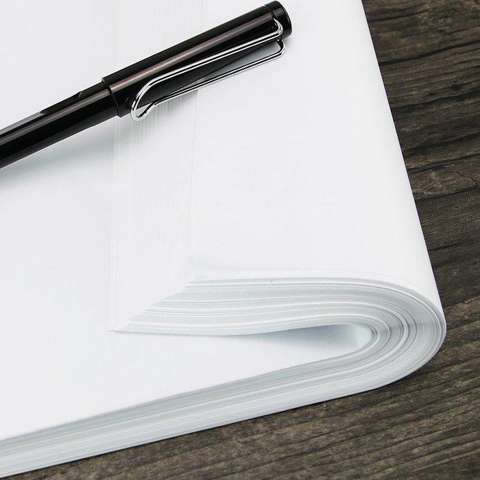 硬筆書法練習臨摹紙500張 透明拷貝紙鋼筆毛筆字帖描紅紙