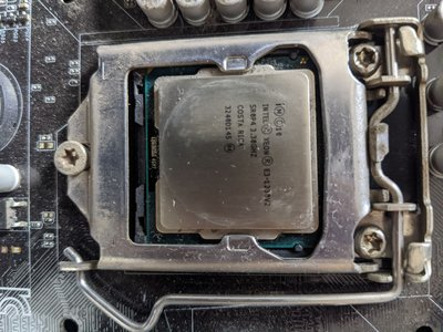 Intel® Xeon® 處理器 E3-1230 v2(附風扇+主機板)