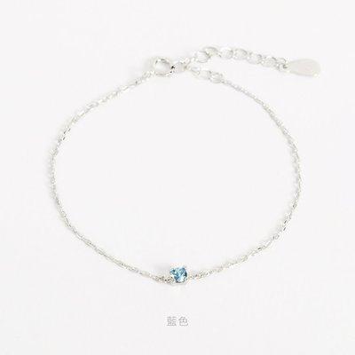 轉賣 Bonny&Read 施華洛世奇水晶/純銀手鍊