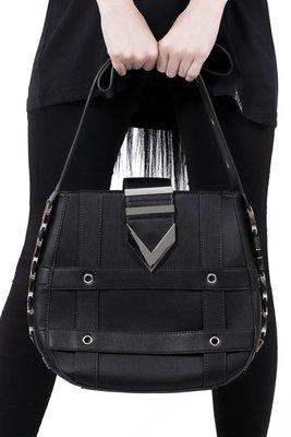 【丹】KS_Hocus Pocus Handbag 黑色 皮帶 風格 手拿包 肩背包 側背包
