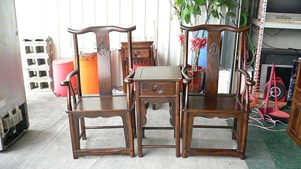 樂居二手家具 全新中古家具賣場 Q110*雞翅木明式公婆椅*洽談桌椅/餐桌椅/泡茶桌椅/會議桌椅/戶外休閒桌椅
