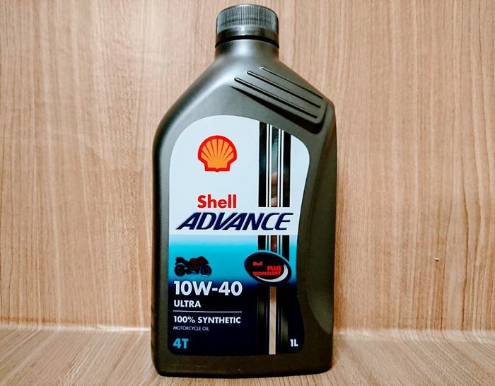 (C+西加小站) Shell 10W40 10W-40  ADVANCE ULTRA 4T  /ENI MOBIL