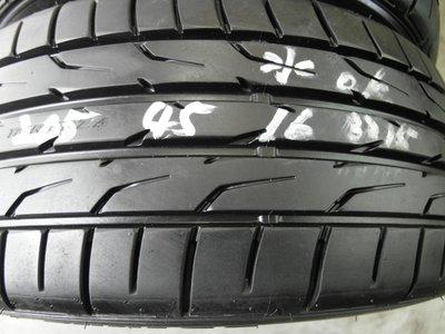 【宏勝輪胎】中古胎 落地胎 維修 保養 底盤 型號:205 45 16 登祿普DZ102 4條 9成9新 2015年
