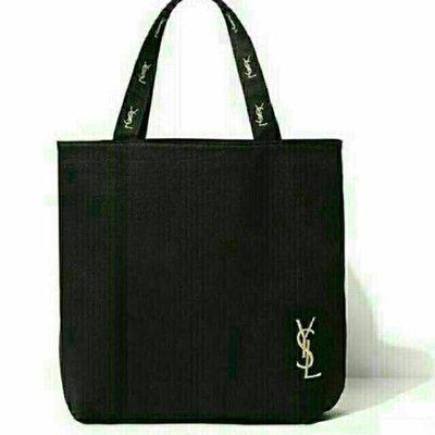 日本雜誌Ysl贈品 帆布包刺繡單肩手提包 手提袋日雜揭載snidel托特包 手提包 贈品包 購物袋