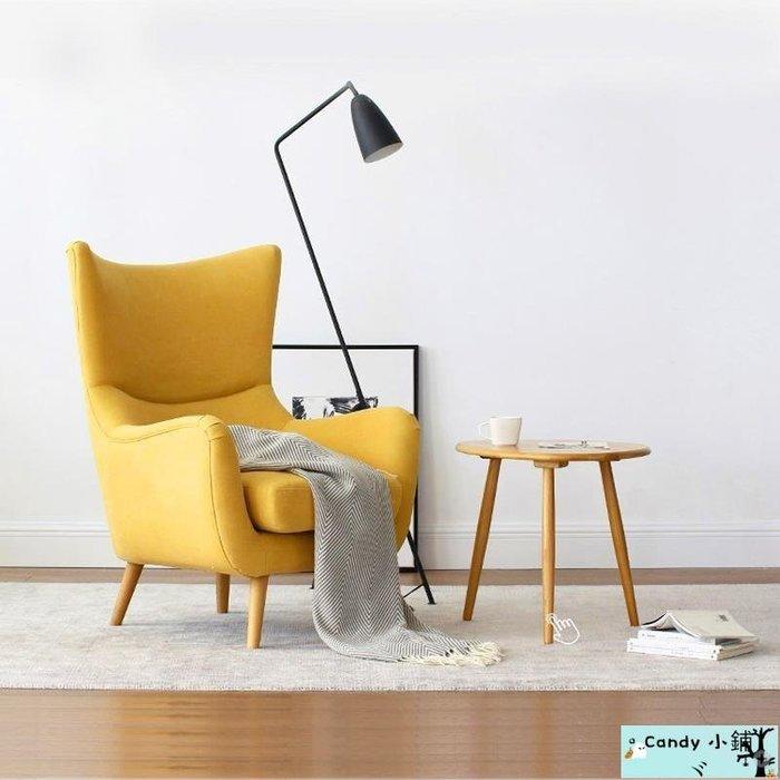 Candy 小鋪ヾ免運 沙發 沙發床 懶骨頭 單人沙發北歐簡約小戶型沙發椅日式現代客廳陽臺臥室沙發椅老虎凳