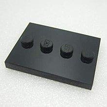 【積木1977】Lego樂高-全新-黑色 3X4 底座/底板/人偶立板/人偶底板 (Black)