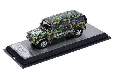 ☆AirRoom☆【現貨】 APE BAPE Mercedes Benz Miniature G-CLAS 迷彩 模型車