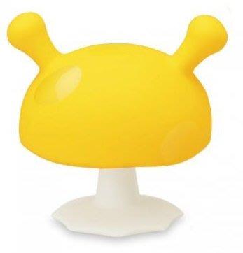 【魔法世界】mombella 媽貝樂 固齒器 Q比小魔菇 黃色