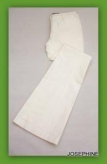 喬瑟芬【SEE BY CHLOE】09 春夏白色棉質喇叭褲~特價!