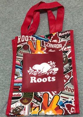Roots 貼布造型環保袋(小款)—含運