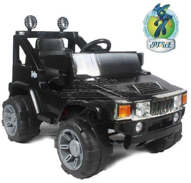 【壹品】貝瑞佳兒童電動車雙驅四輪遙控電動汽車寶寶玩具車越野嬰兒車可坐 不是每輛車都能如此霸氣!YP-21487