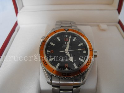 Omega PLANET OCEAN Orange Automatic Co-Axial Divers 45.5mm (1)