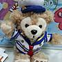 瑪莉貓部屋***東京迪士尼 海洋  Duffy 水手風 達菲熊  坐姿 鍊珠吊飾