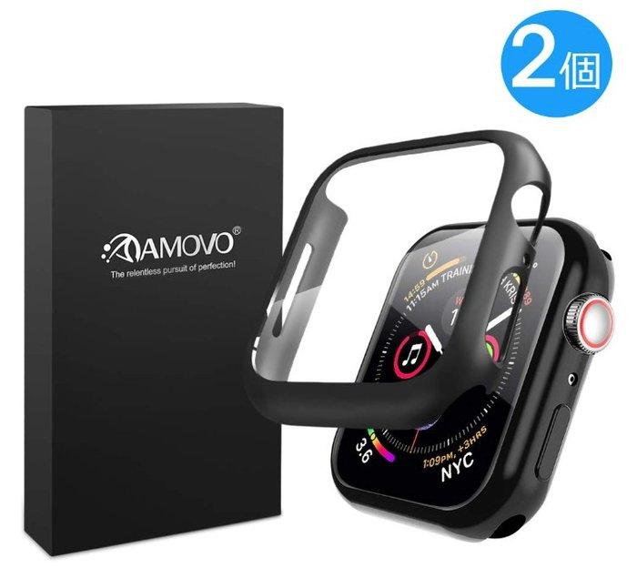 《FOS》日本 Apple Watch Series 6 SE 保護套 旭硝子玻璃製 保護殼 透明殼 40/44mm
