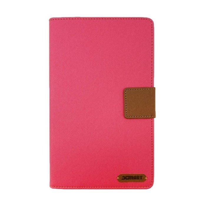超 台灣發貨 促銷 XMART SAMSUNG Galaxy Tab S6 斜紋休閒皮套  掀蓋皮套 可立 插卡 磁扣