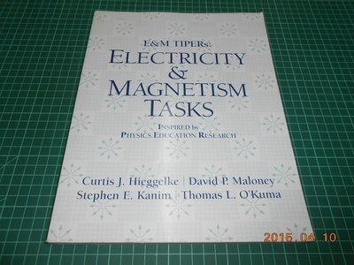 《ELECTRICITY & MAGNETISM TASKS》八成新 ISBN:0131854992 外觀角微損