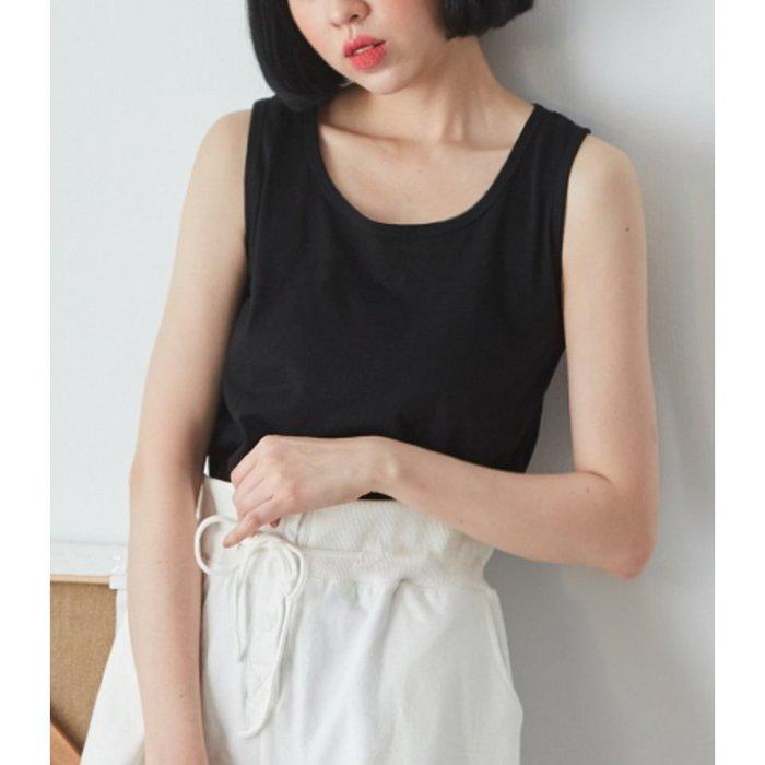 【Hao Da】全館399免運↘「M~XL。現貨」5色 竹節棉 圓領背心 (C1266)