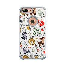 『四號出口』送線+保貼 apbs x Mb【 iPhone X/XS 】 施華洛世奇 防摔 二合一 鑽殼 森林物語