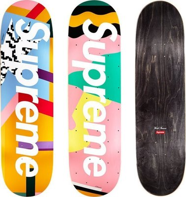 ☆AirRoom☆【現貨】2016SS Supreme Mendini Skateboards box logo 滑板