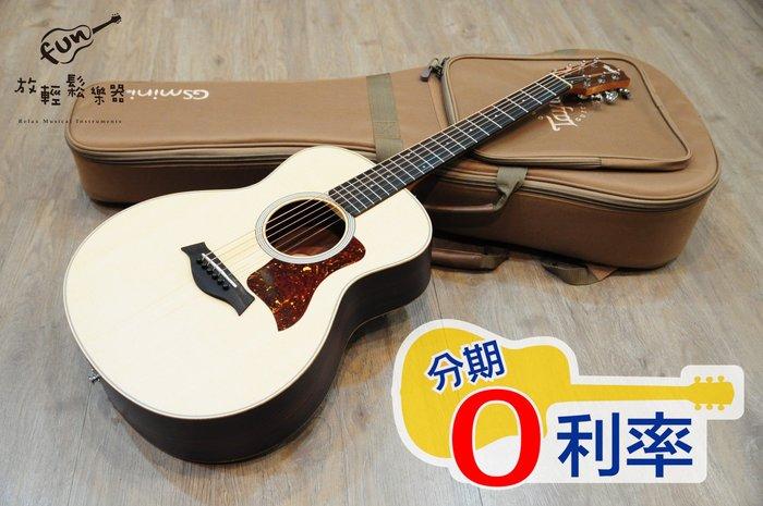 『放輕鬆樂器』2020年新款 公司貨 Taylor GS mini RW 玫瑰木 36吋 旅行吉他 附原廠琴袋 全館免運