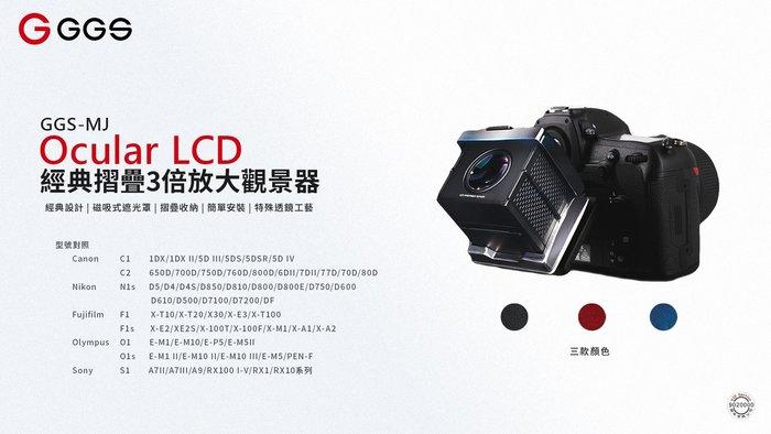 【華揚數位】☆全新 GGS-MJ-C2 Ocular LCD 3.0吋 經典摺疊3倍放大觀景器 6D2 7D2 80D