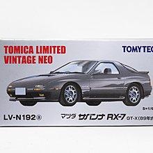 全新 日版 Tomytec Vintage Neo Mazda RX-7 LV-N192A 萬事得 灰色