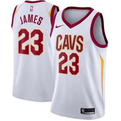 LeBron James Nike White Swingman Jersey