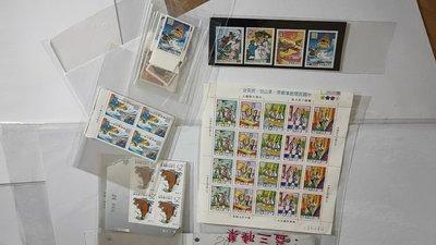 中國民間故事郵票-梁山伯、祝英台 白蛇傳 牛郎織女 八仙(上+下)各4套共20套