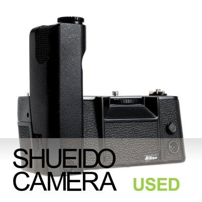 集英堂写真機【1個月保固】中古良品 / NIKON MD-4 電動捲片馬達 把手 F3 F3HP 用 11239