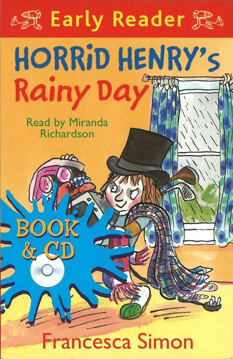 *小貝比的家*HORRID HENRY'S RAINY DAY /平裝書+CD/7~12歲