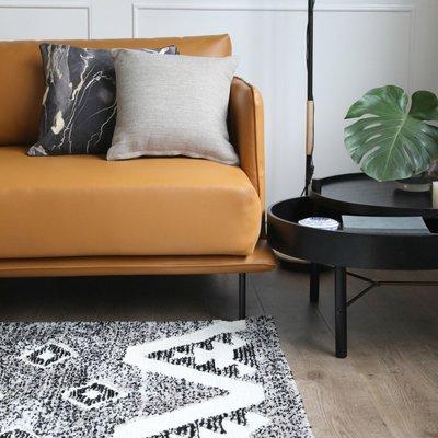 【Uluru】Grayism 140x200 條毯 地毯 長毛 短毛 客廳 臥室 Loft 北歐 工業 風 地墊