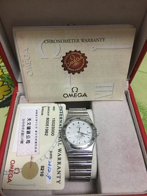 Omega Constellation亞米茄天文台自動機械錶