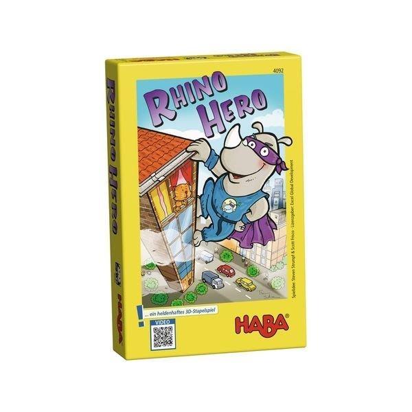 德國 HABA 4092 Rhino Hero 犀牛 現貨 【優惠價不提供刷卡】