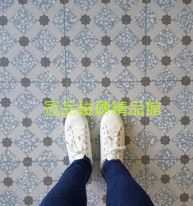 ◎冠品磁磚精品館◎西班牙進口精品 洛迪半拋水磨石石英磚素磚8色及花磚14色–30X30CM