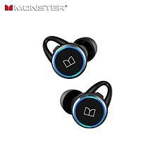 重低音回歸!Monster Clarity 101 AirLinks 真無線藍牙耳機 | 美國魔聲、旋轉開蓋、IPX5