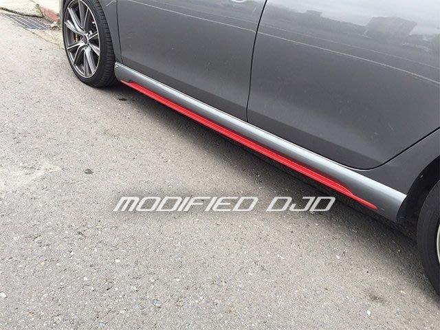DJD19082302 全新高品質 福斯 VW GOLF 6代 MK6 TDI TSI GTI A版側裙 PP材質