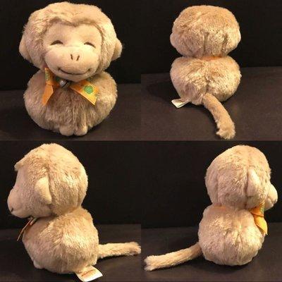 9.3cm高 猴子公仔 (豆袋底)