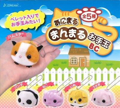 ✤ 修a玩具精品 ✤ ☾日本扭蛋☽ 絨毛娃娃 動物吊飾 全5款 療癒小動物 超可愛