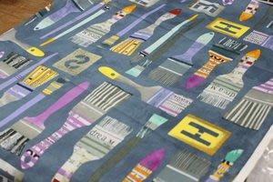 豬豬日本拼布@WINDHAM FABRICS設計款E系列@棉布材質