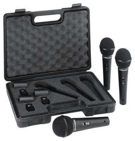 【六絃樂器】全新 Behringer XM1800S 動圈式麥克風 3支裝 / 舞台音響設備 專業PA器材