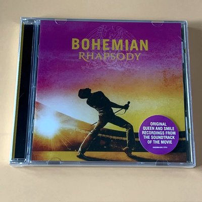 全新CD 皇后樂隊 Queen Bohemian Rhapsody CD 專輯