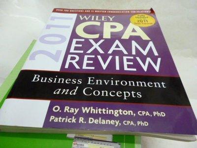 買滿500免運-Wiley CPA Exam Review 2011, Business Environment and Concepts