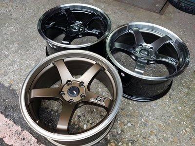 新款 ASGA A03 輕量化鋁圈 18吋 5X100 5X114 5X108 5X120 古銅 亮金 亮灰 亮黑 新北市
