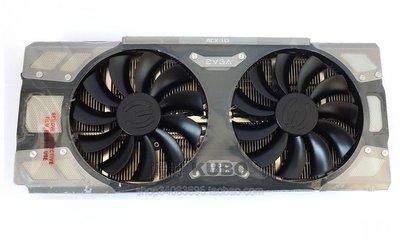 @上新電腦配件散熱風扇 EVGA GTX1070 8G FTW ACX 顯卡風扇 6熱管鍍鎳 58mm顯卡散熱器