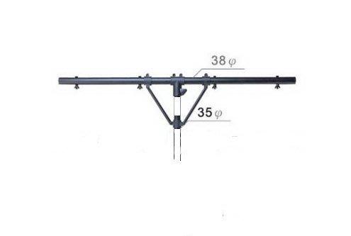 【六絃樂器】全新台灣製 YHY 燈光架橫桿 牛角T霸 / 舞台音響設備 專業PA器材