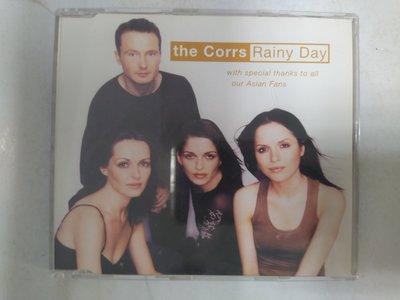 昀嫣音樂(CDa77)  the Corrs Rainy Day 1995年 微細紋 保存如圖 售出不退