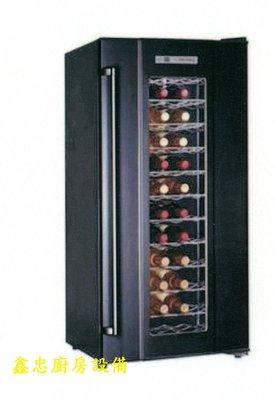 鑫忠廚房設備-餐飲設備:全新單溫控72瓶葡萄酒櫃-紅酒櫃-賣場有快炒爐-西餐爐-冰箱-咖啡機-烤箱