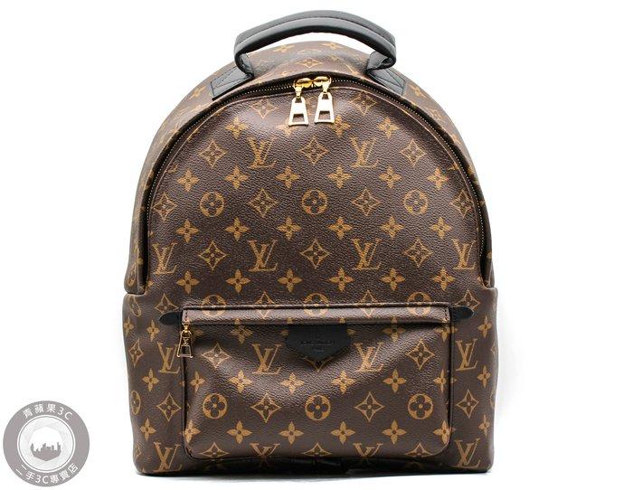 【青蘋果】路易威登 LV  M41561 Palm Springs MM 經典花紋後背包 #48002